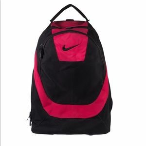 Nike Luggage Bag Backpack On Rollers Pink Black